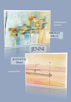 Exposition Mireille et Jeannette Jenni