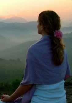 Yogi méditation à la montage Image Pixalbay (image libre de droit)