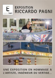 Exposition Riccardo Pagni Espace TSM