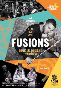 Le festival Fusions. Quand les musiques s'en mêlent a lieu du 1er au 11 novembre ADEM