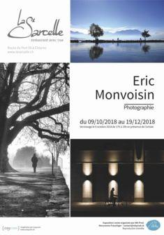 Affiche de l'exposition de Eric Monvoisin Photographie de Eric Monvoisin - Graphisme Affiche : www.cosycom.ch