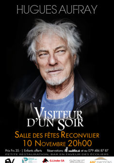 Affiche Hugues Aufray encore production