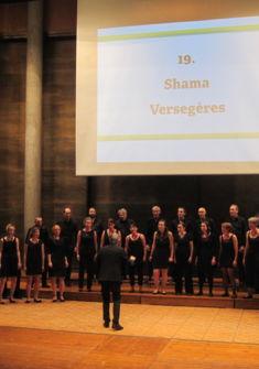 Shama au concours choral de Fribourg