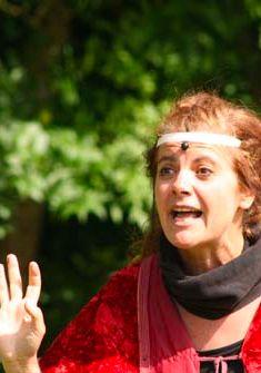 Joane Reymond, de la Cie Mine de rien DR