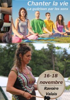 Congrès Chanter La Vie, du 16 au 18 novembre 2018 à Ravoire Editions Recto-Verseau