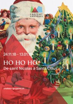 Affiche del 'exposition Château de Gruyères / Spielzeug Welten Museum Basel