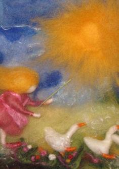 Des ateliers (payants) proposent de travailler la laine, décorer les biscômes, faire une bougie en cire d'abeille...
