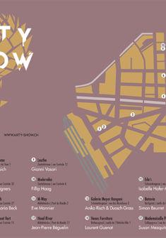 Plan du parcours Arty Show ©bubblelab