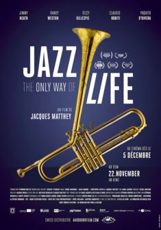 Poster JAZZ THE ONLY WAY OF LIVE