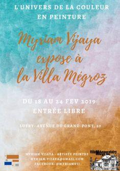 Myriam Vijaya à la Villa MEGROZ de Lutry! Myriam VIJAYA