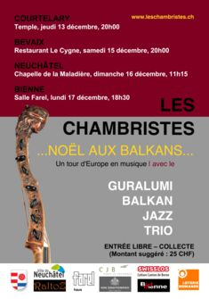 Concert de Les Chambristes décembre 2018