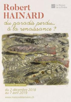 Affiche de l'exposition La Maison de la Rivière