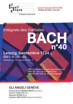 Intégraee des Cantates de Bach n°40 ©GAG 2018