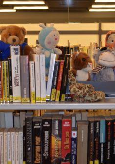 Mon doudou dort à la Bibliothèque