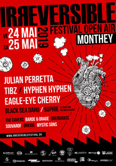 Affiche 2019 Irreversible Festival Open Air