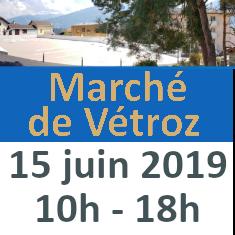 Marché de Vétroz 15.06.2019