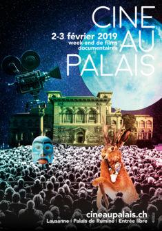 Affiche Ciné au Palais J.-S. Fauquez, BCU-L