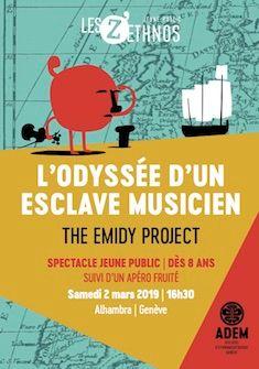 Le flyer de l'événement ADEM / Tassilo