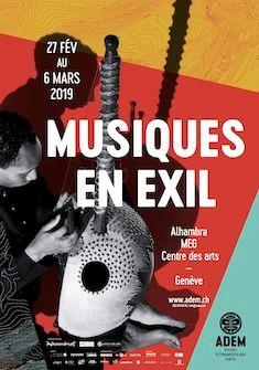 Musiques en exil, du 27 février au 6 mars ADEM/ Tassilo