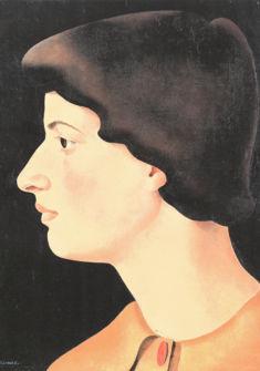 © Lili Erzinger, Autoportrait, 1934. Dépôt EBEL, Musée des beaux-arts, Le Locle.