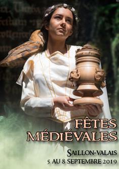 Fêtes Médiévales de Saillon 2019 La Bayardine, Fêtes médiévales de Saillon