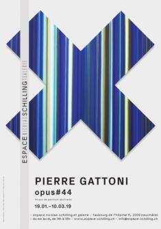Affiche Pierre Gattoni Opus#44