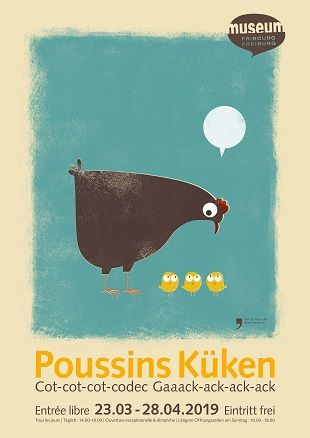 Poussins 2019 - affiche mhnf