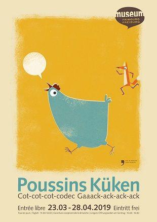 Poussins - affiche