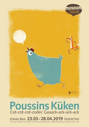 Poussins - affiche mhnf