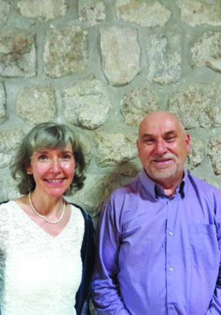 Laurent Jouvet et Elisabeth de Mestral