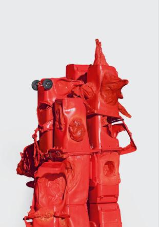 Anita Molinero. L'îlot rouge. Musée des beaux-arts de La Chaux-de-Fonds