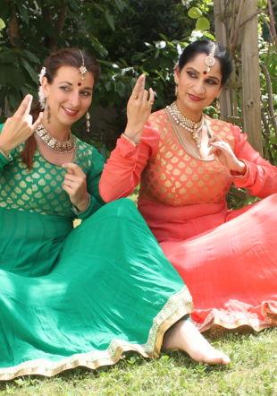 Annjali Shah et Sharmila Sharma 2018 @ Shashin Garach