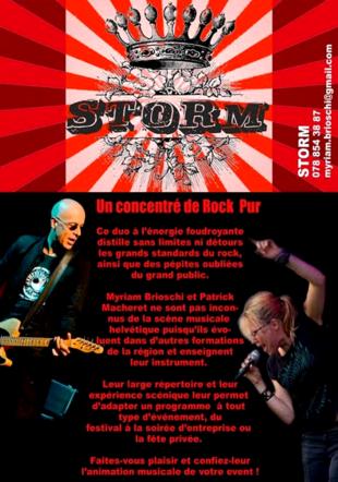 STORM Rock Pur Myriam Brioschi Patrick Macheret