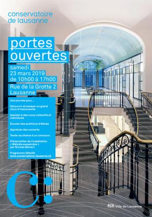 Portes ouvertes du Conservatoire de Lausanne Conservatoire de Lausanne