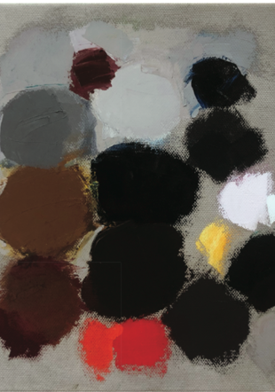 Ferdinand Arnold, n 719, huile sur toile 32x30, 2015 Ferdinand Arnold