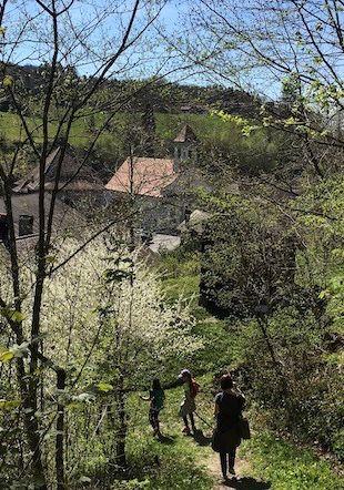 L'Abbaye de Montheron au printemps
