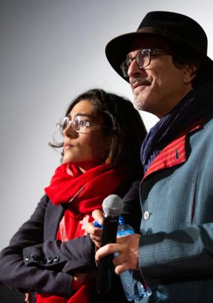 Goshifteh Farahani & Atiq Rahimi Rebecca Bowring