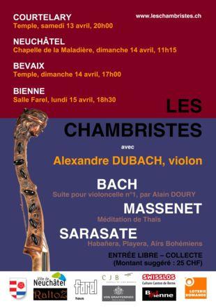 Alexandre Dubach et Les Chambristes