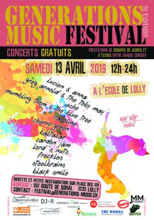 Affiche de la 2e édition du Festival