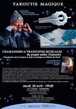 Soirée Yakoutie Magique Conférence et Concert HOZHO Visions