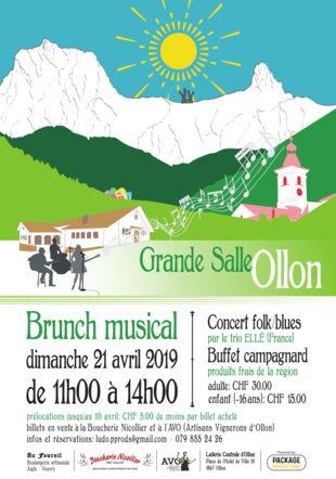 Brunch musical avec Ellé - Ollon