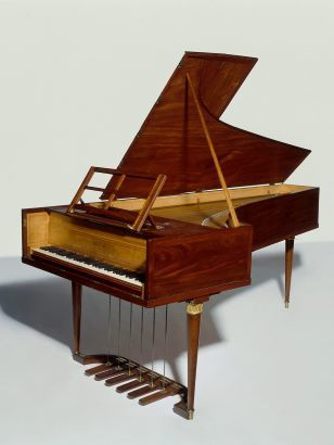 Pianoforte Erard au Musée de la Musique (Paris, 1802)