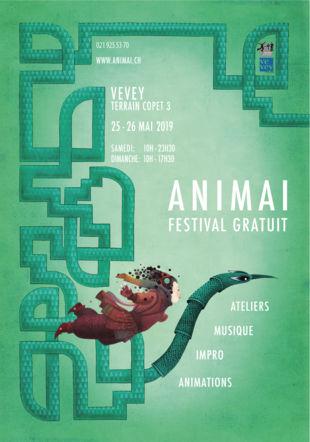 Affiche Animai 2019 Gaelle Vejlupek