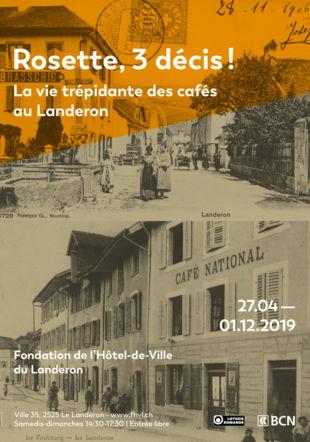 affiche exposition Fondation de l'Hôtel de Ville