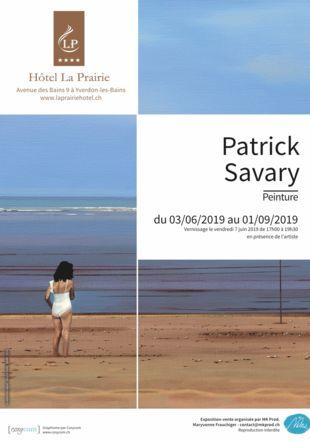 Exposition Patrick Savary