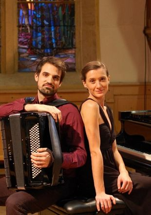 Bojana Antovic, piano/Julien Paillard, accordéon