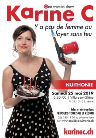 Karine C - Y a pas de femme au foyer sans feu - Nuithonie Stephane Schumtz