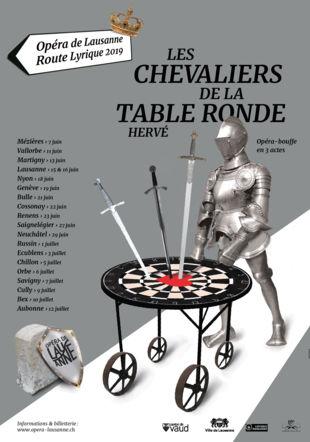 Route Lyrique - Les chevaliers et la Table ronde Opéra de Lausanne