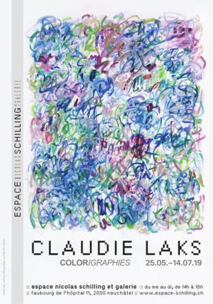 Affiche Claudie Laks Espace Schilling