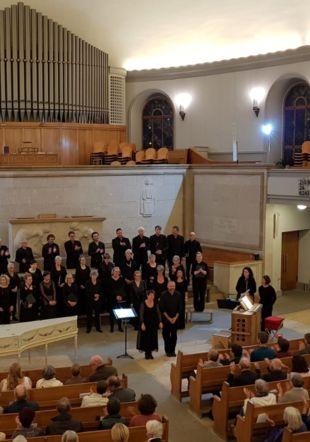 La Chorale Faller lors de son concert en 2018
